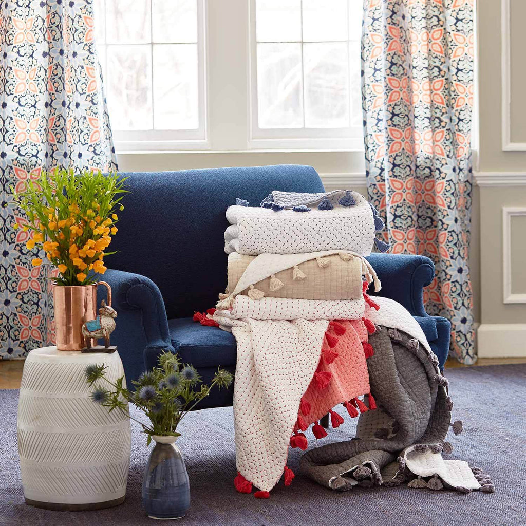 Sahati Throws by John Robshaw | Fig Linens and Home