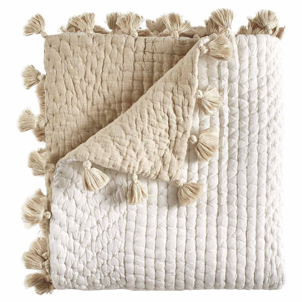Sahati Sand Decorative Throws by John Robshaw - Fig Linens