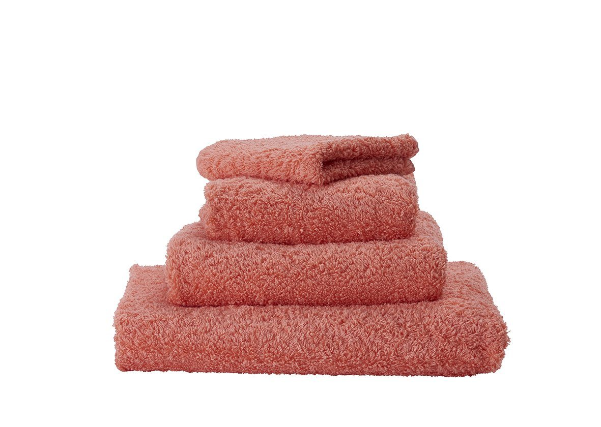 Set of Abyss Super Pile Towels in Salmon 680