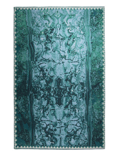 Saved New York Malachite Mirror Open Blanket - Fig Linens