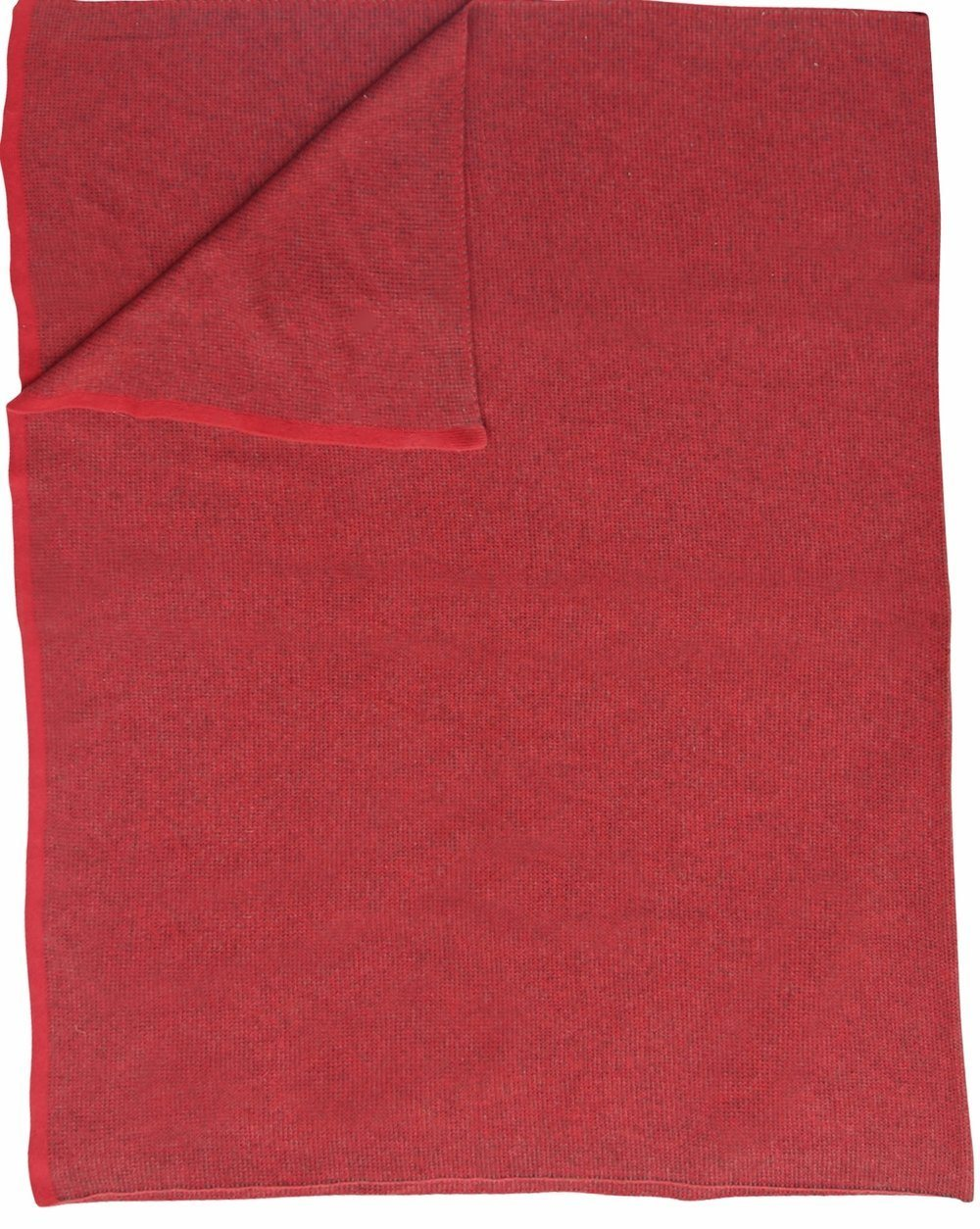 Saved New York Moss merlot Throw Folded - Fig Linens