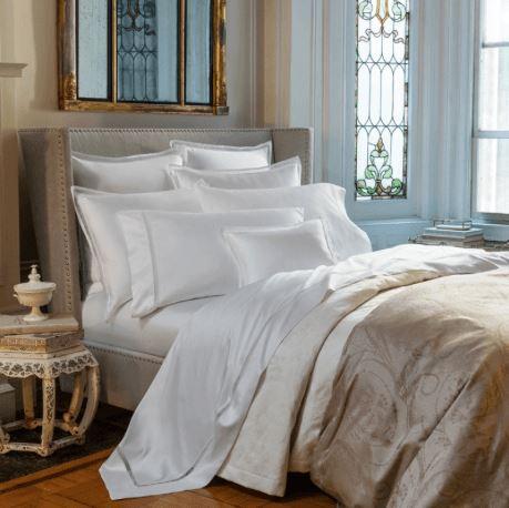 Fig Linens - Giza 45 - Trina Collection by Sferra - Duvet Cover, sheets, shams