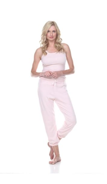 Dena Sweatpants With Elastic Ankle and Back Pockets by PJ Harlow - Fig Linens and Home