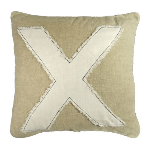 X Pillow by Sugarboo