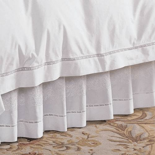 Francesca Bed Skirt by Sferra | Fig Fine Linens and Home