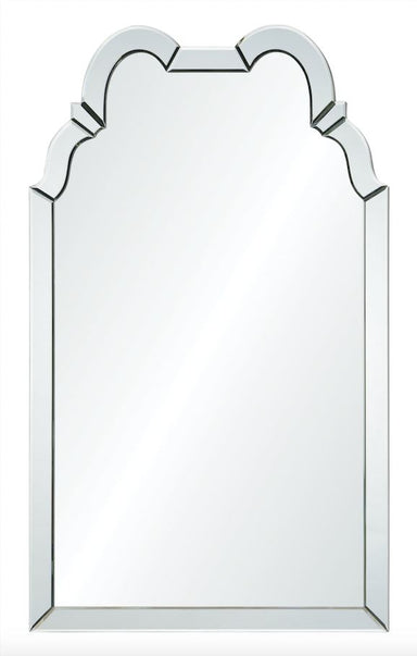 Double Hooded Wall Mirror Framed Mirror by Bunny Williams | Fig Linens