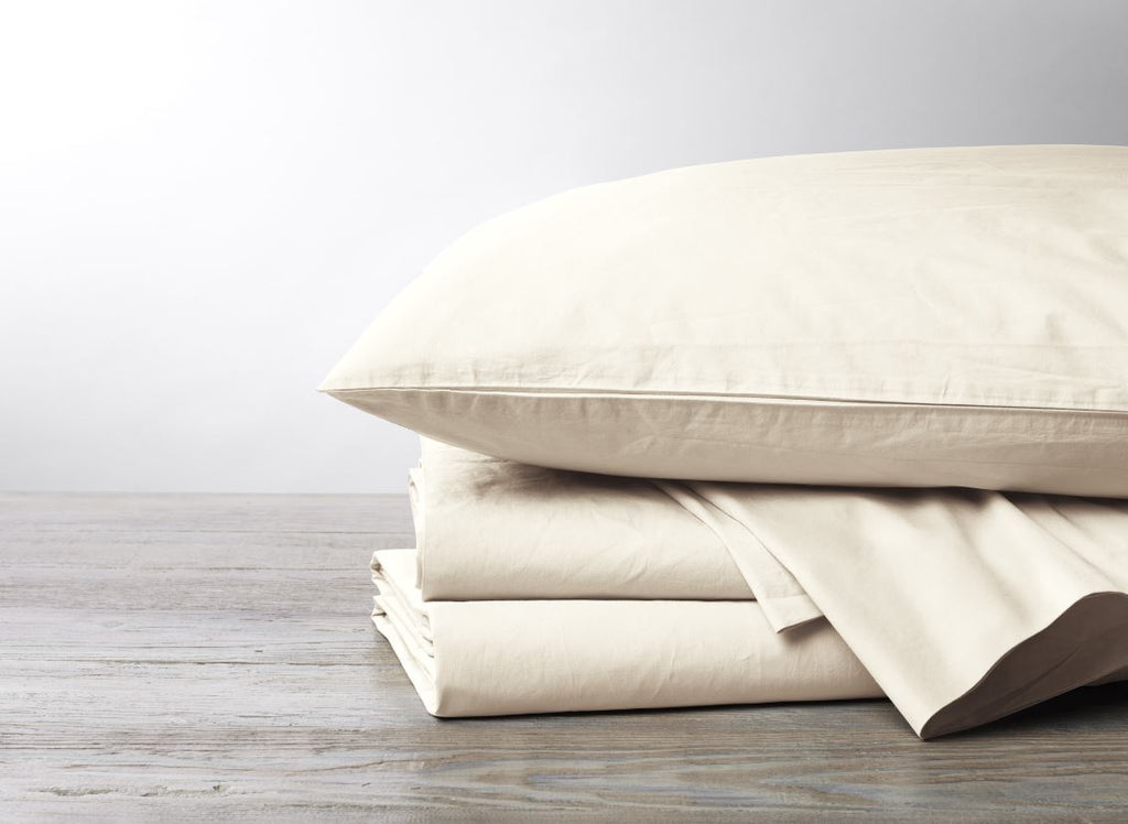 Undyed Coyuchi 300 Thread Count Sheet Sets - Fig Linens