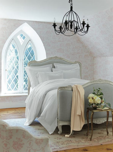Adriana White Bedding Collection by Scandia Home | Fig Linens