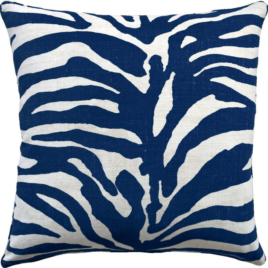 Serengeti Navy Pillow