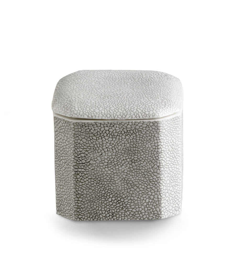 Kassatex Shagreen Cotton Jar