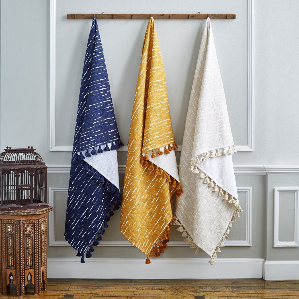 Shibori Throws by John Robshaw | Fig Linens