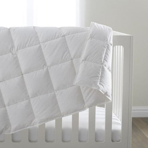 Siesta Crib Down Blanket by Scandia Home | Fig Linens