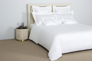 Frette Single Ajour White Bedding | Fig Linens