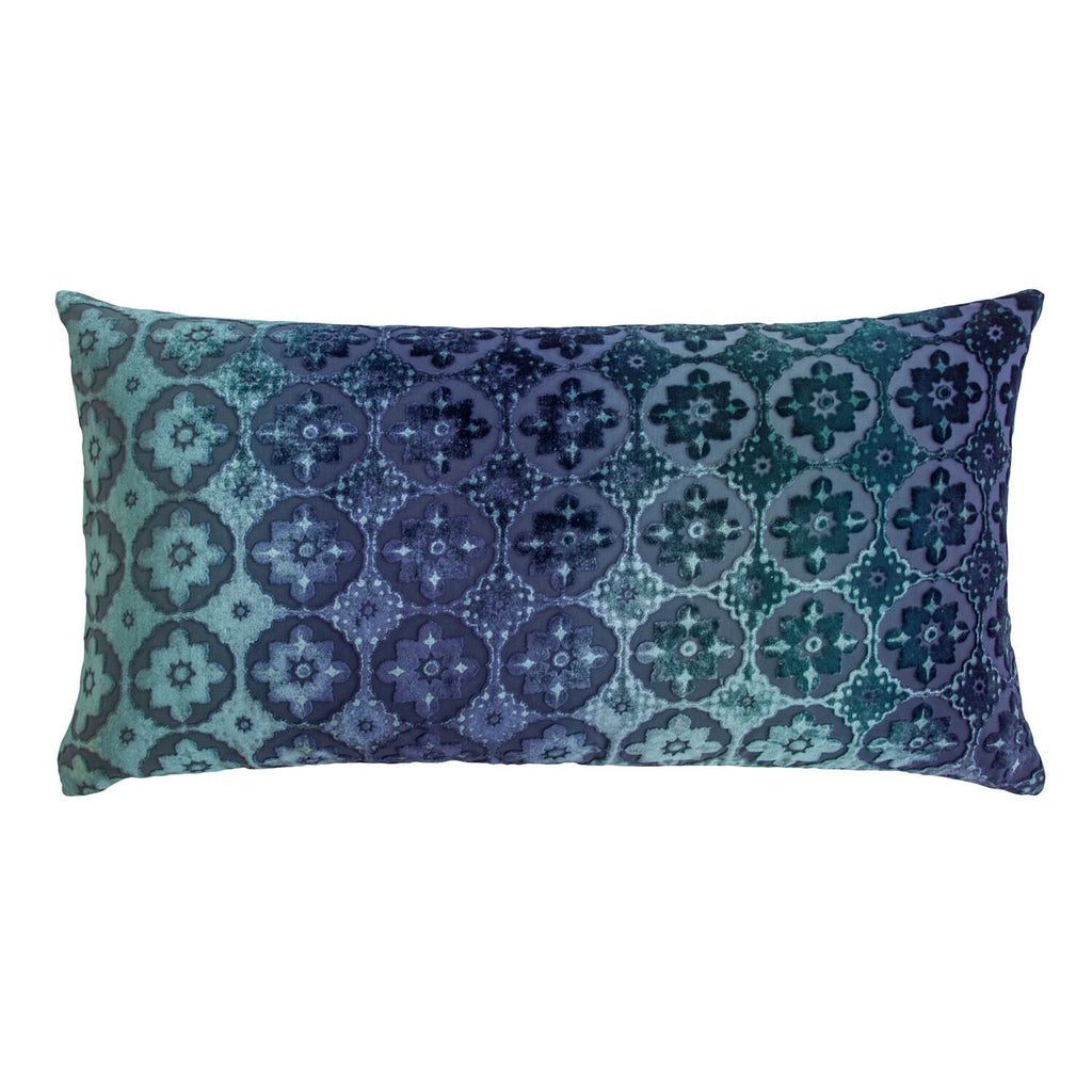 Fig Linens - Small Moroccan Shark Velvet Pillows by Kevin O'Brien Studio
