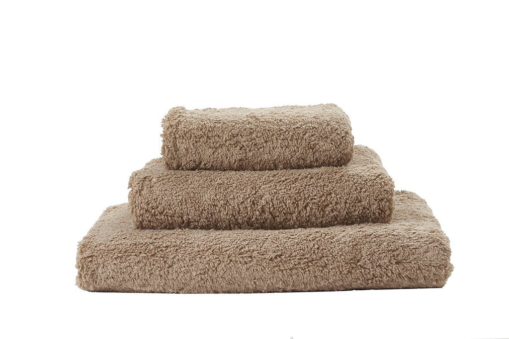 Abyss Super Pile Taupe Towels - Fig Linens