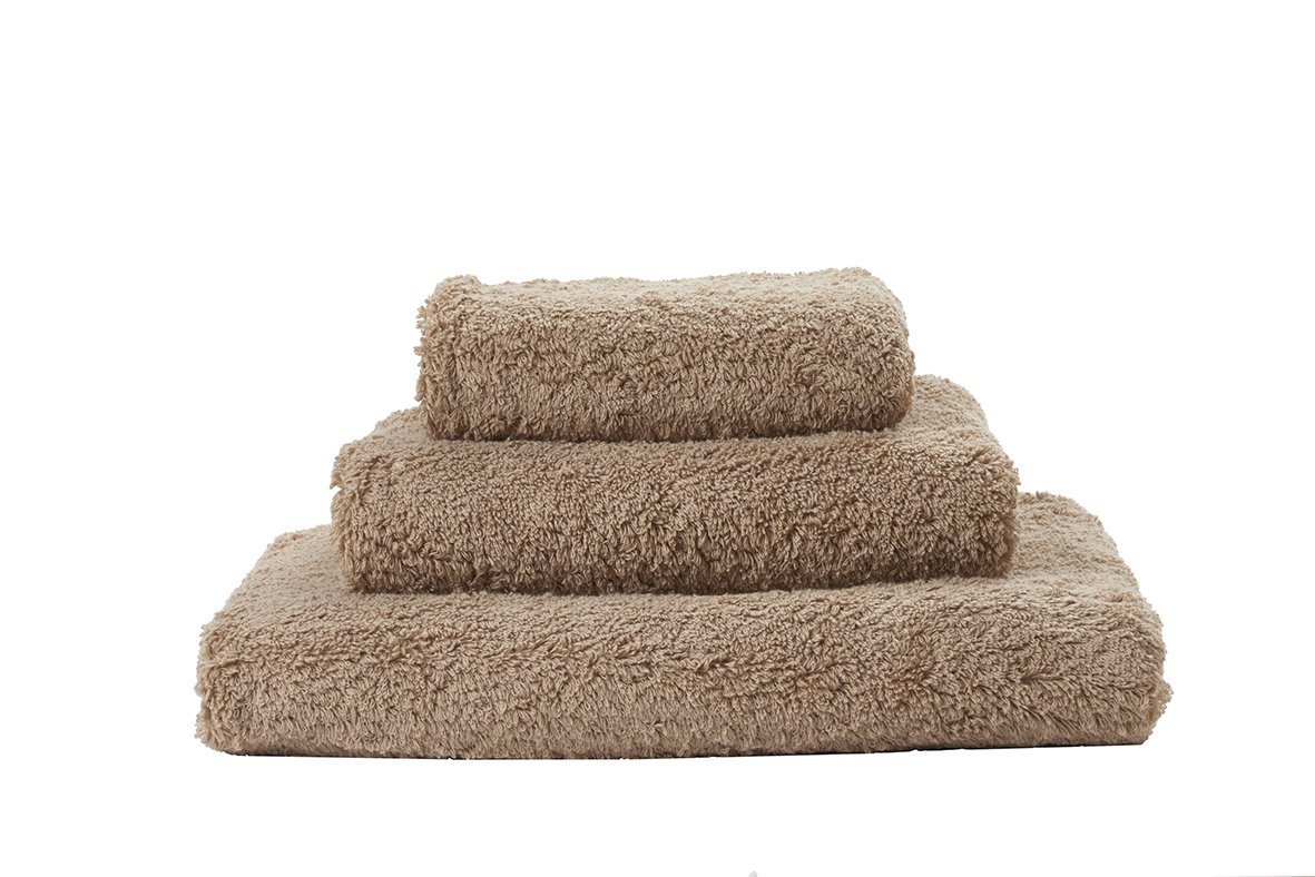 Set of Abyss Super Pile Towels in Taupe 711