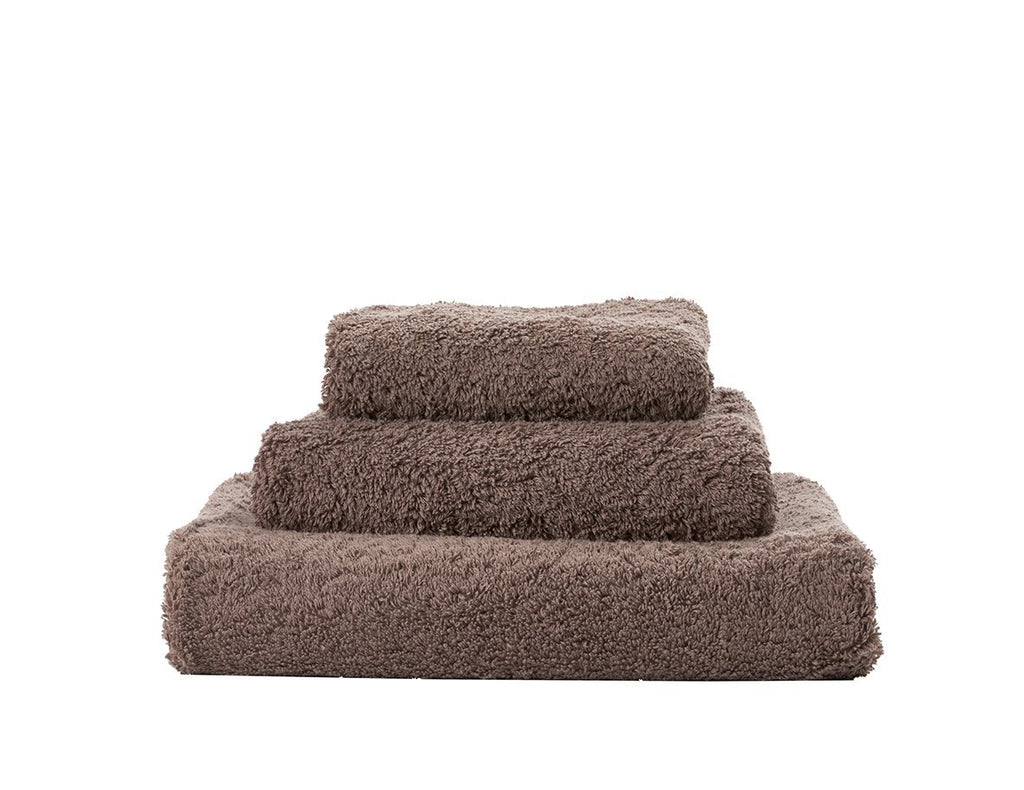 Abyss Super Pile Tiramisu Towels - Fig Linens