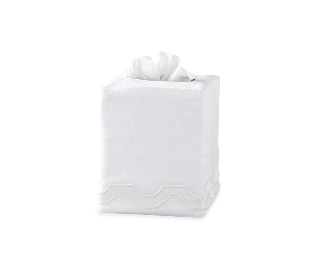 Mirasol Bone Tissue Cover | Matouk at Fig Linens