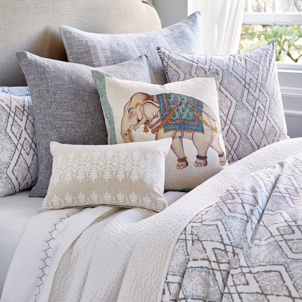 Fig Linens - Vanaja Bedding by John Robshaw with accent pillows