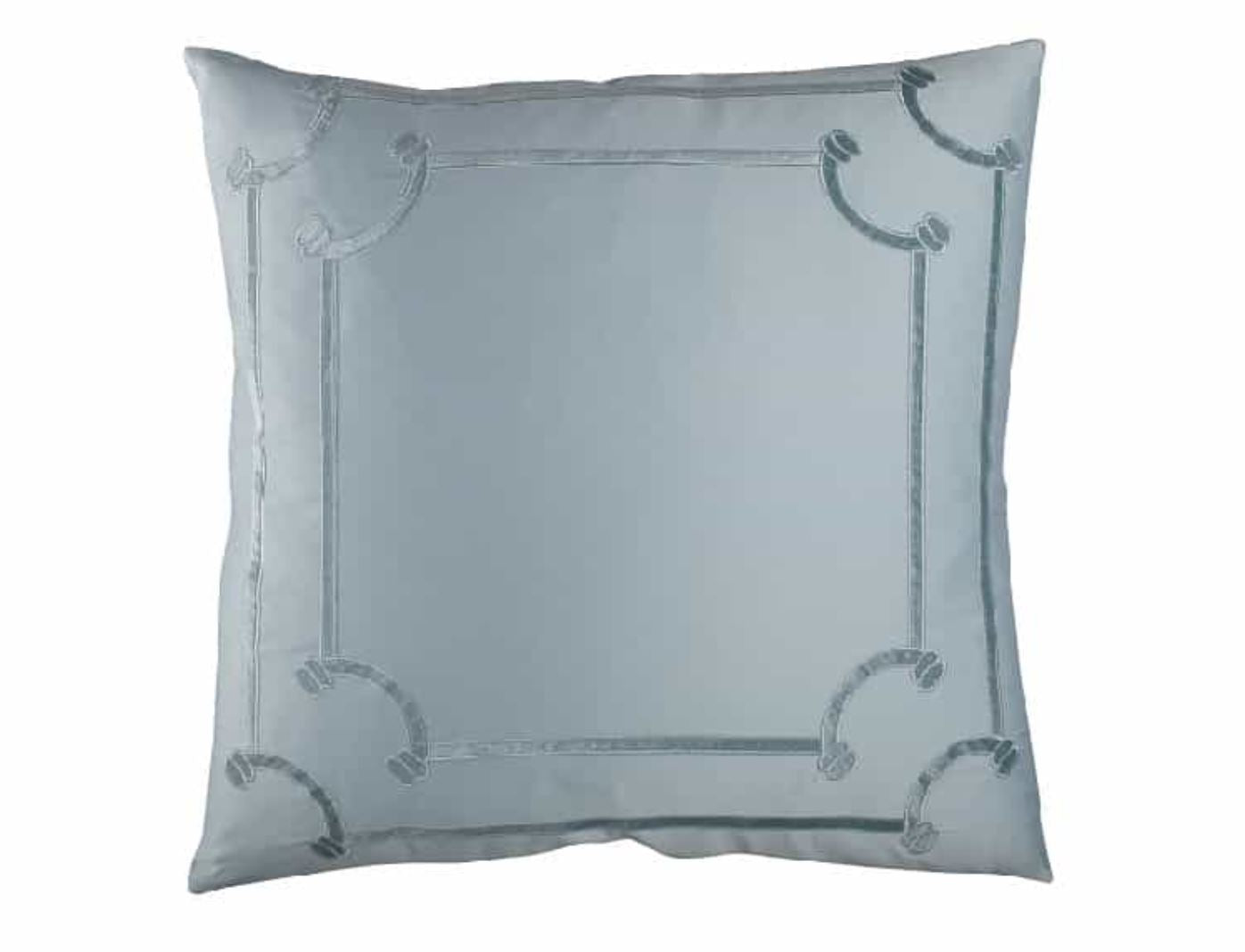Lili Alessandra Vendome Sea Foam Euro Pillow
