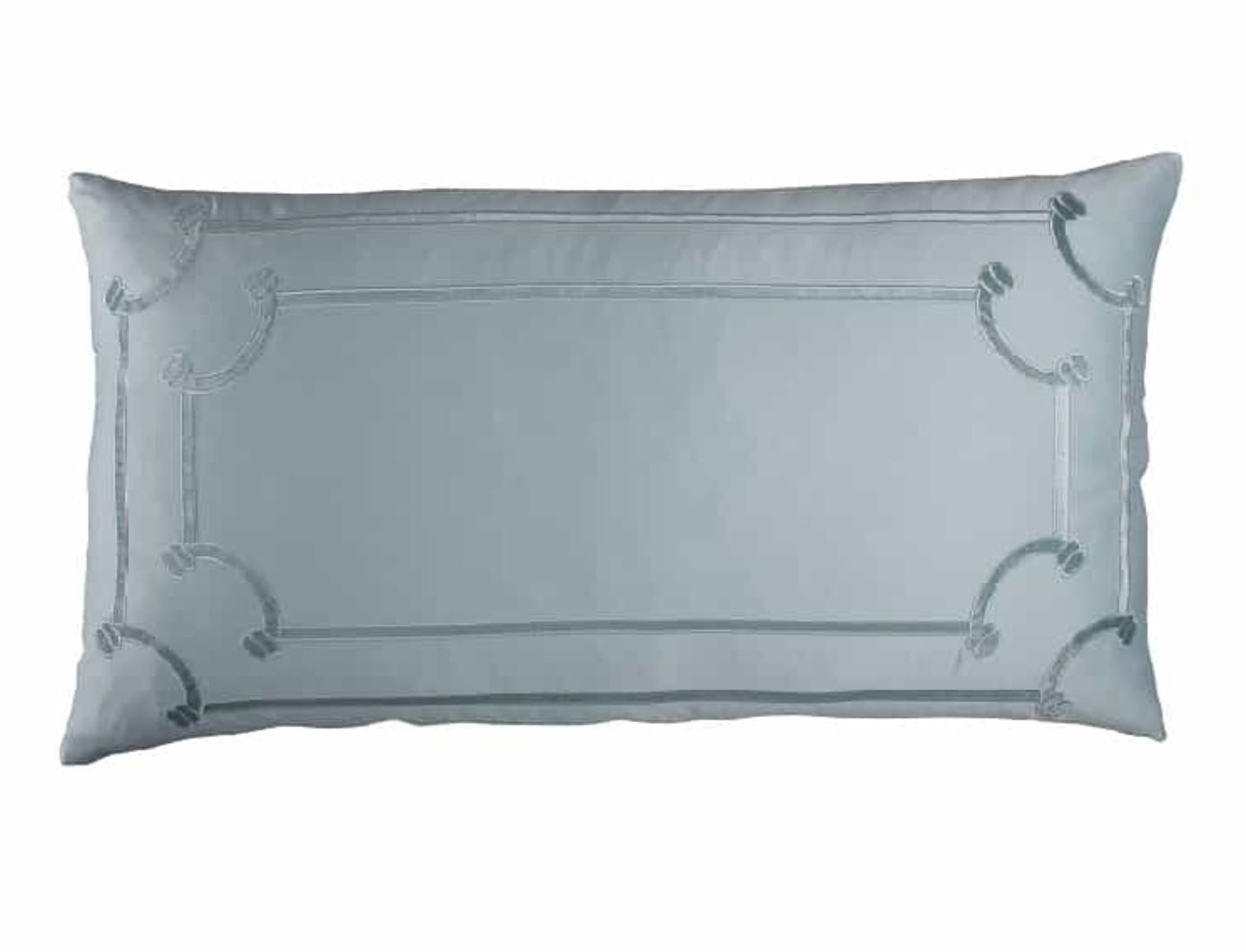 Lili Alessandra Vendome Sea Foam King Pillow