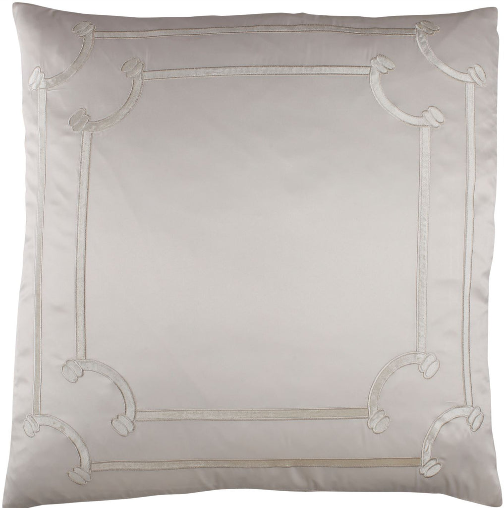 Lili Alessandra Vendome Ivory Euro Pillow