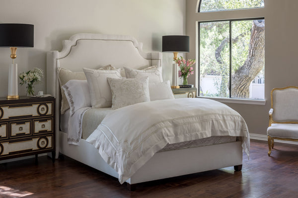 Lili Alessandra Vendome Ivory at Fig Linens