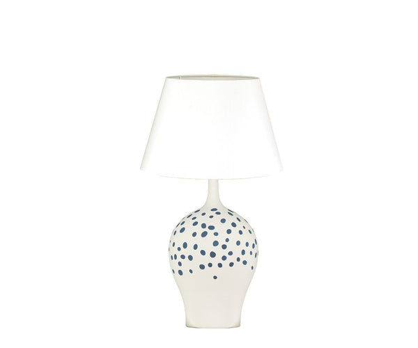Angelica Indigo Table Lamp by William Yeoward | Fig Linens