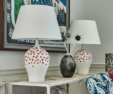 Angelica Rouge Table Lamp by William Yeoward | Fig Linens