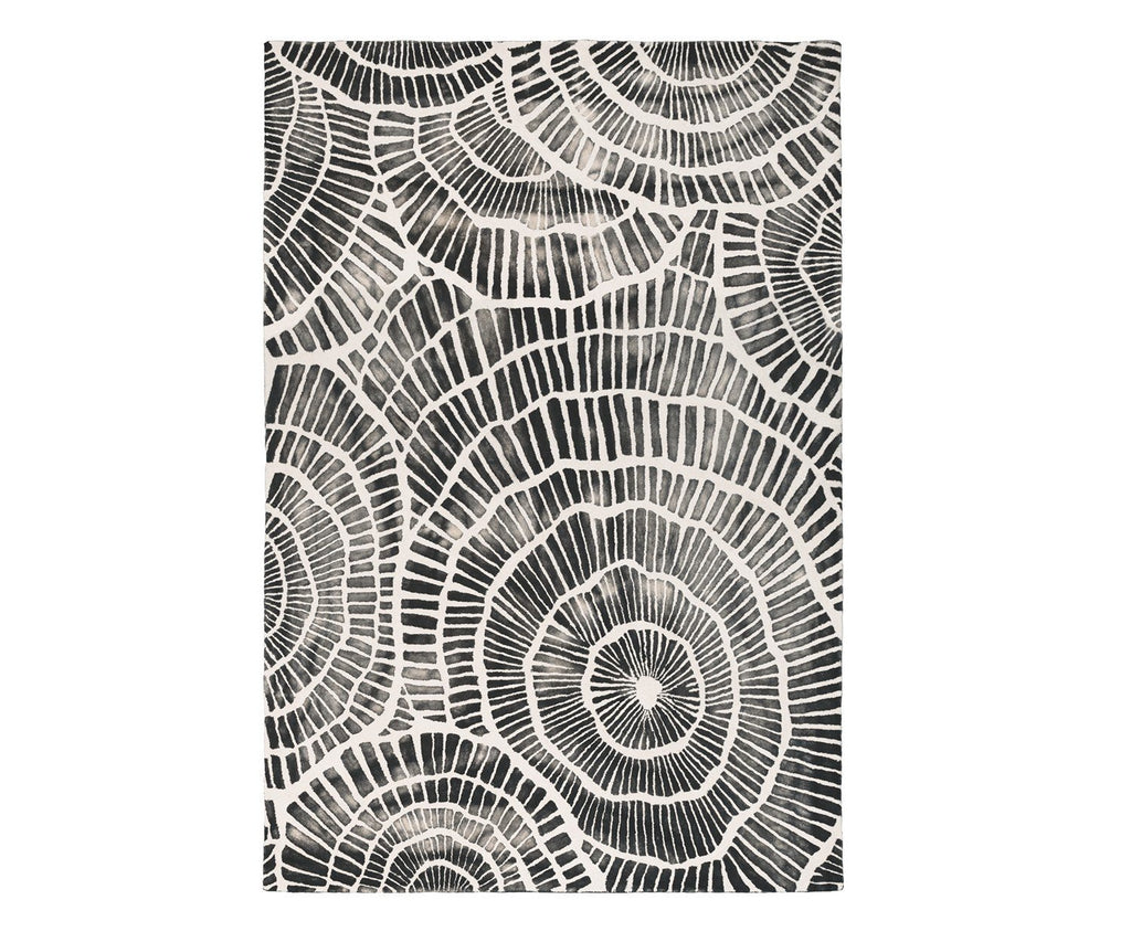 Piedra Charcoal Rug by William Yeoward
