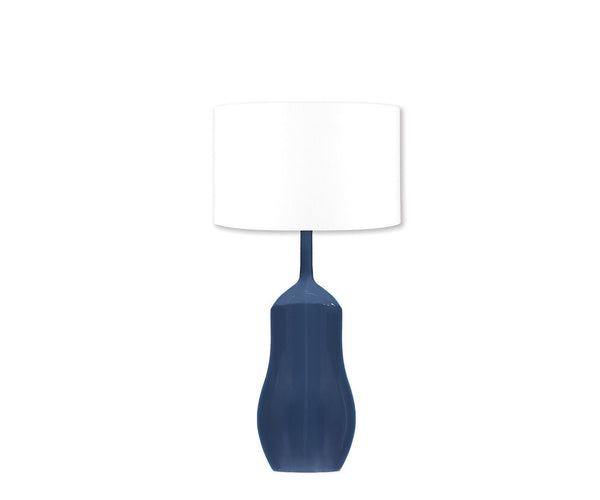 William Yeoward Appia Indigo Lamp | Fig Linens and Home Lighting