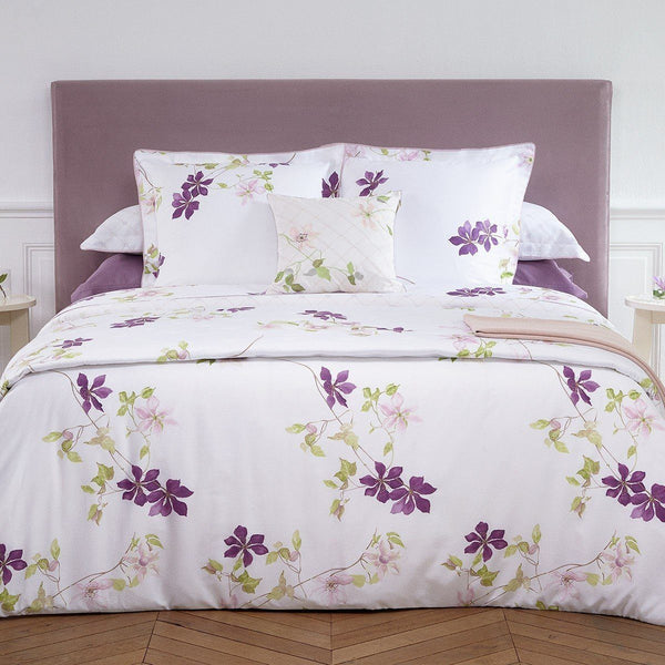 Clematis Decorative Pillow by Yves Delorme - Fig Linens and Home on Bedding