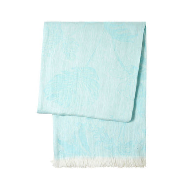 Yves Delorme Ete Linen Throw Blanket at Fig Linens