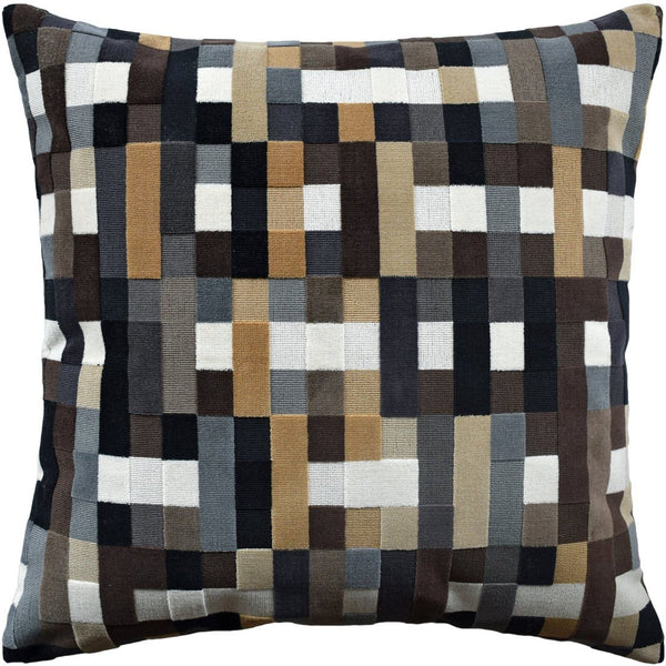 Abstract Moment Onyx Pillow