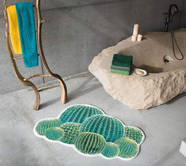 abyss habidecor cactus bath rug - lifestyle shot