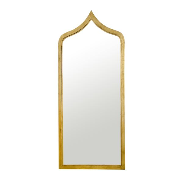Adina Mirror in Gold Leaf