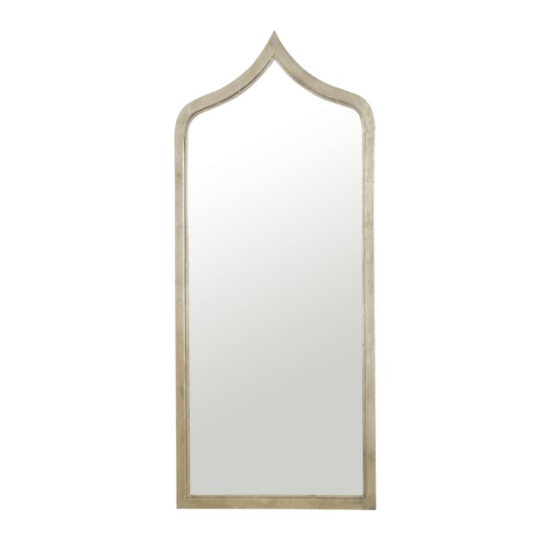 Adina Mirror by Worlds Away in Silver Leaf - Shop Wall Mirrors at Fig Linens