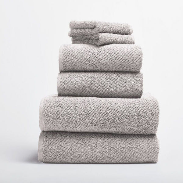 Air Weight Fog Organic Bath Towels by Coyuchi | Fig Linens