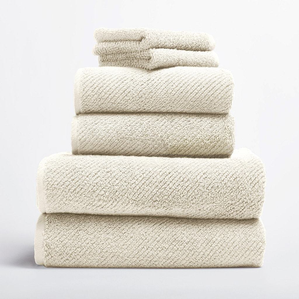 Air Weight Undyed Organic Bath Towels by Coyuchi | Fig Linens