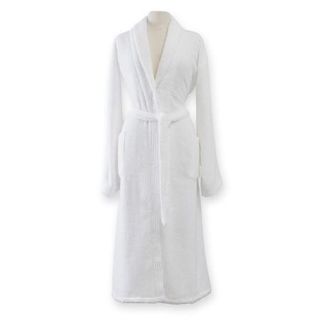 Amira Robe by Sferra | Fig Linens and Home - White robe