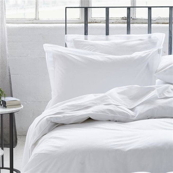 Astor Bianco Bedding by Designers Guild