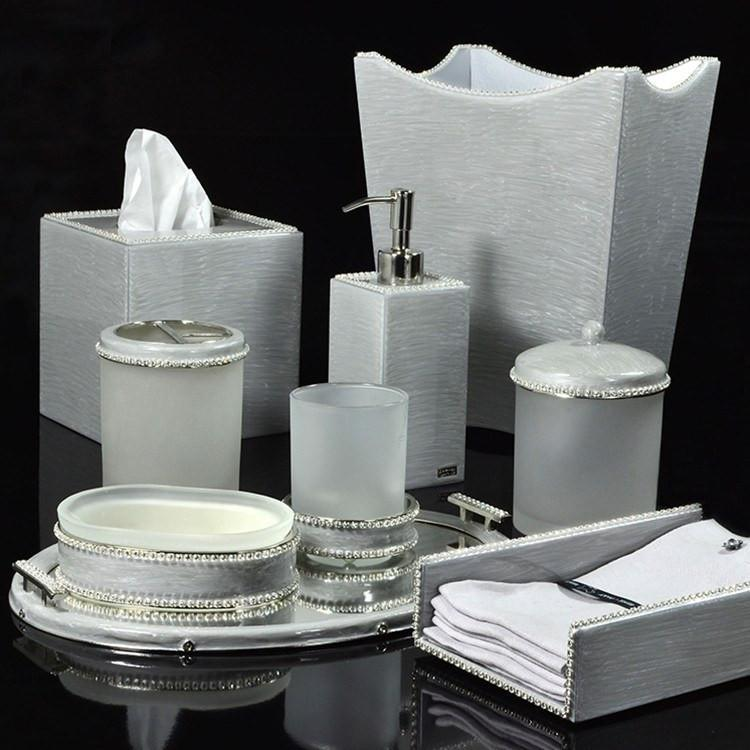 Audrey Collection Silver by Mike + Ally | Fig Linens and Home