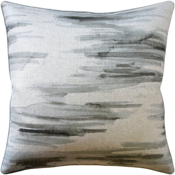 Awash Cinder Decorative Pillow - Fig Linens