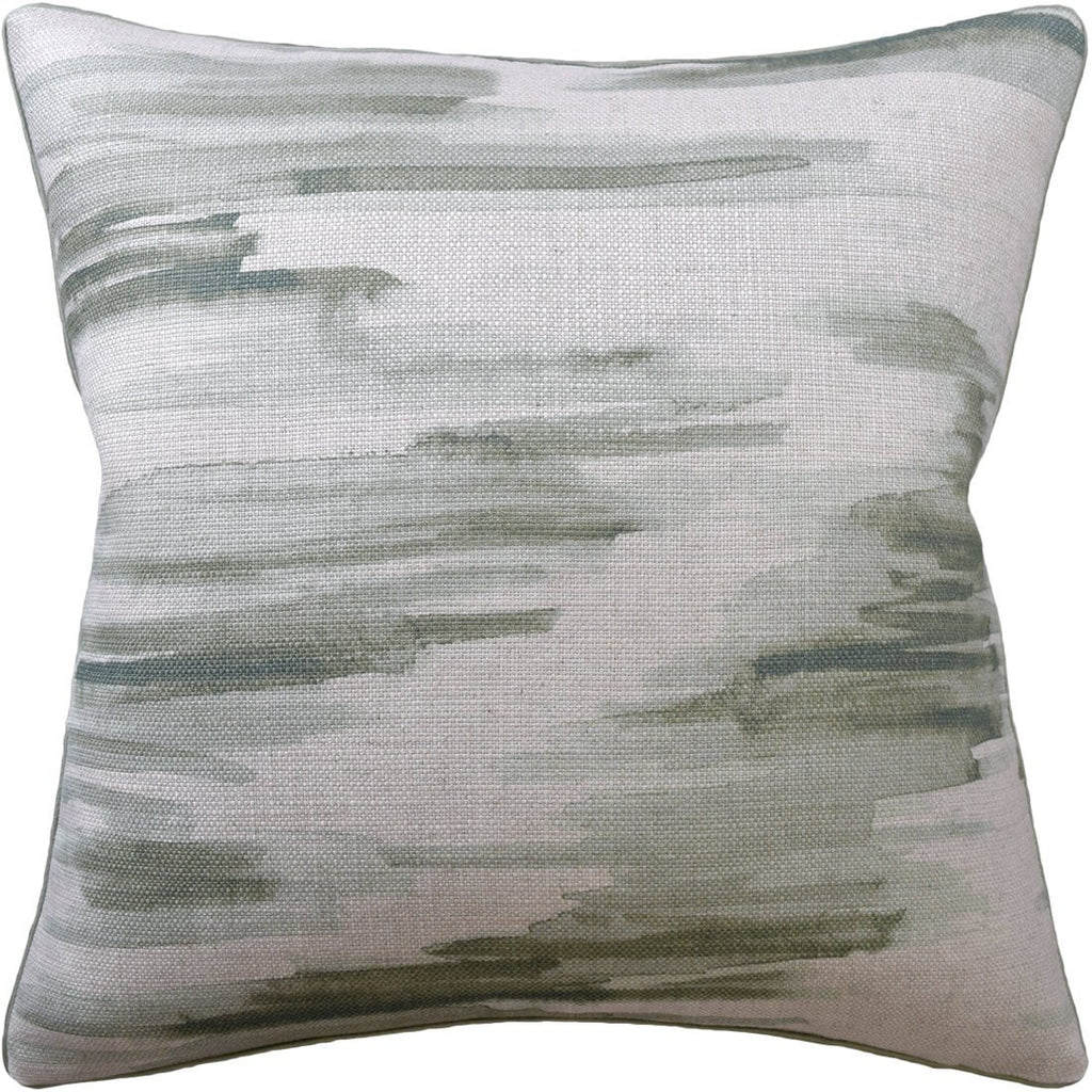 Awash Leek Decorative Pillow - Fig Linens