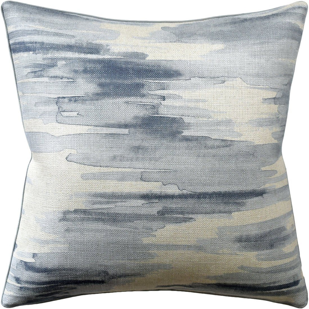 Awash Water Fig Linens Decorative Pillow