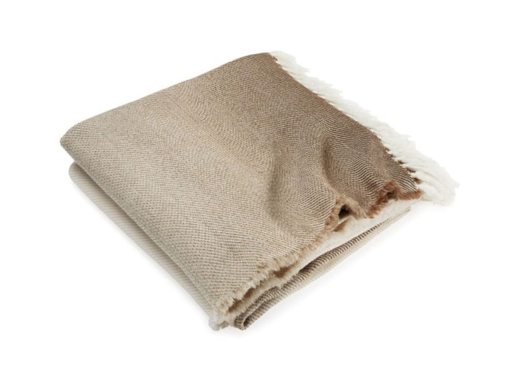 Palermo Oatmeal Ombre Throw