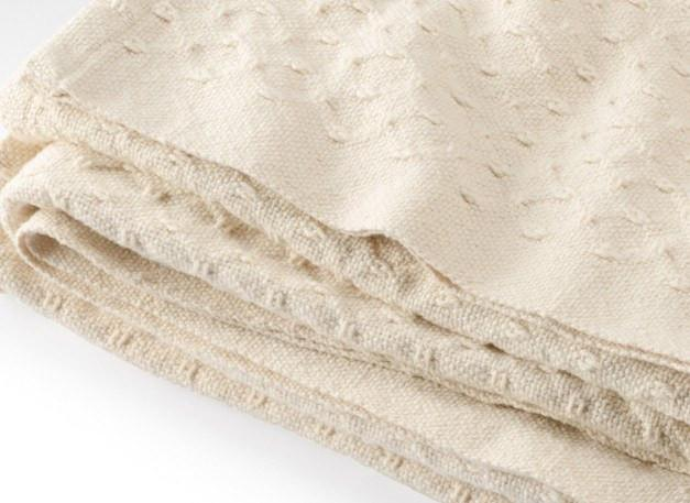 Vanburen Natural Cotton Blanket by Brahms Mount | Fig Linens and Home
