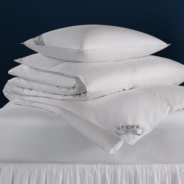 Buxton Goose Down Comforters by Sferra | Fig Linens and Home