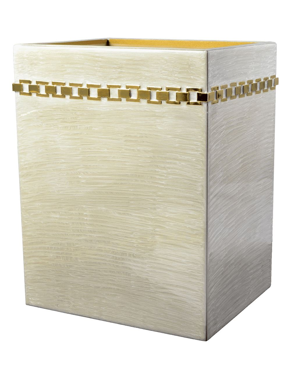 Wastebasket - Carlyle Moonglow Collection by Mike + Ally | Fig Linens and Home