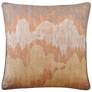 Cascadia Saffron Decorative Pillow at Fig Linens